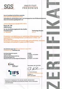 IFS_Zertifikat